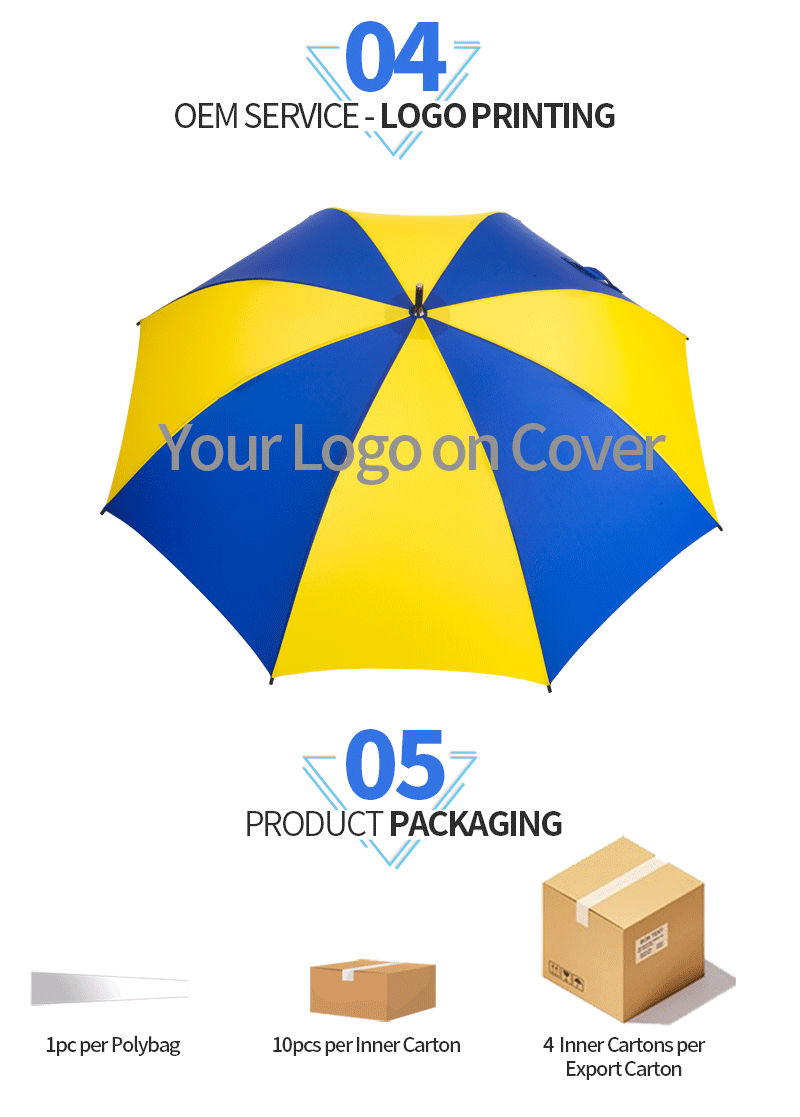 golf umbrella personalized