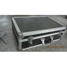 Aluminiumkoffer (schwarz) mit Schaumstofffutter (BC-47)