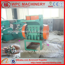 wood plastic crusher / crushing machine for recycled profiles and pipes