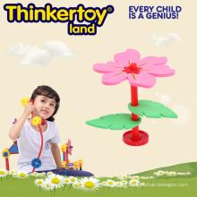 Pré-escolar, brinquedo, agilidade, treinamento, flor