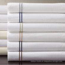 Grande hotel egípcio algodão percal edredon capa (dpfb8089)