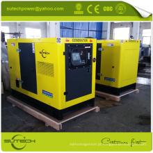 Com o gerador diesel da fase monofásica do interruptor de transferência 20kva automático para o uso home