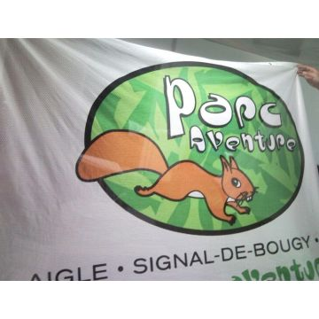 Polyester Tyg Mesh Sports Event Banner