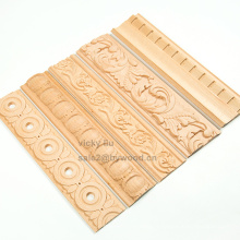 moulures en bois modèle sculpté