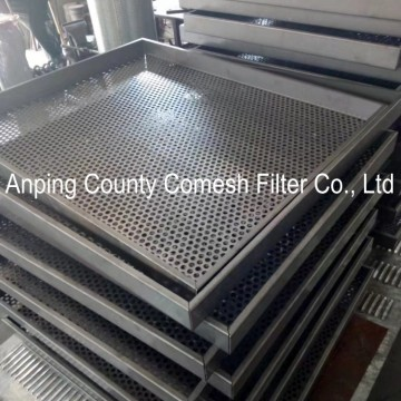 1.5mm Thickness Perforated Stainless Steel Sheet Tray
