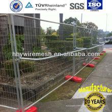 clôture temporaire de barrière de sécurité pour la sécurité