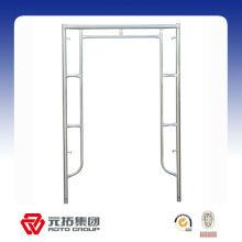 Cadre de porte en acier bs1139 / h échafaudage de cadre de type à vendre