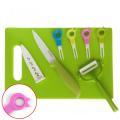 Ceramic Tableware for Knife+Peeler+Forks+Chopping for Tableware