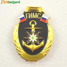 Carrete de regalo de promoción de metal personalizado insignia de carrete