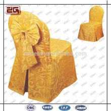 Diseño de moda Poliéster universal por encargo de la silla de boda al por mayor de la cubierta