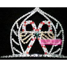 Accessoires de cheveux de mode candy spider candle custom tiara