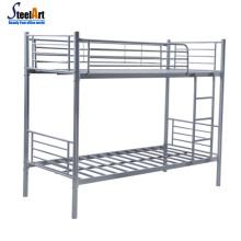 New design children high safety steel double decker bed