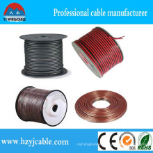 PVC Insulation Red &Black Copper Clad Aluminum Conductor Speaker Cable