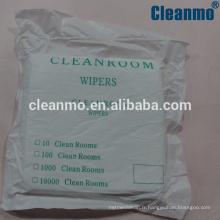 Usine vente directe haute qualité quatity salle blanche essuie-glaces microfibre classe 10-100