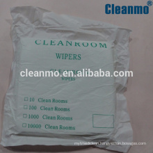 Factory direct selling high quatity cleanroom microfiber wipers class 10-100