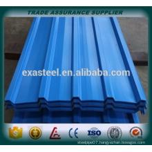 ppgi galvanized corrugated steel sheet