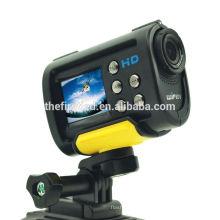 IShare S10W Câmara de vídeo Full HD 1080P WiFi Câmera de vídeo de grande angular de ação de 170 graus para capacete Mini Sport DV