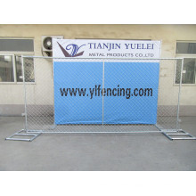 Hot-Dipped Galvanized Safety Temporary Fence