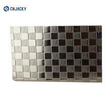 Wuhan A4 0.8 mm brillante / placa de acero mate para PVC tarjeta de prensa laminador