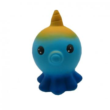 SQUISHY UNICORN  OCTOPUS TOY-0