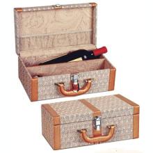 Caixa de madeira do presente feito sob encomenda para o pacote / jóia / vinho / chá (W07)