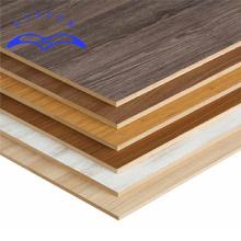 Qinge E1 glue melamine mdf board high quality mdf sheet with melamine paper laminated