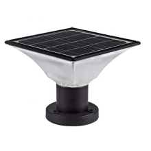 5W / 7W солнечный светодиодный светильник для стойки ворот