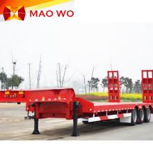 Remolques de ventas Lowbed de transporte pesado 60ton 80ton