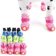 4pcs/set Dog Shoes,Pet Shoes,Pet Boots Anti Slip Skid Waterproof