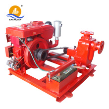 4 inch non clogging high suction self priming diesel water pump