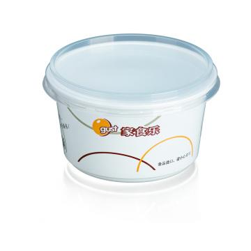 Горячие продажи 480 мл одноразовые пластиковые контейнеры для пищевых продуктов с крышкой