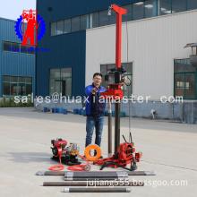 QZ-3 diesel engine sampling drilling rig / portable small size sampling drilling rig and core & soil sampling drill machine