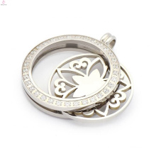 48mm memorycoin cage locket pendants