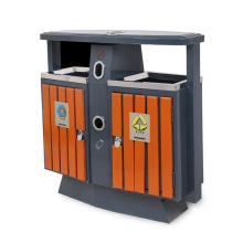 Stainless Steel Trash Bin with Ashtray for Outdoor (A3600)