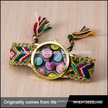 fashion teenage flower handmade vogue fabric watch strap