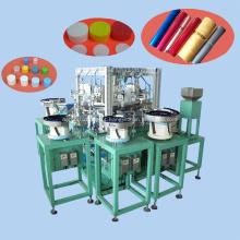 Máquina de montagem de tampa de garrafa cosmética