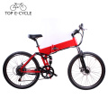 Chinese cheap electric folding bike 26inch mountain bike green power e bike