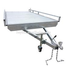 Remolque plano barato galvanizado sumergido caliente para la venta