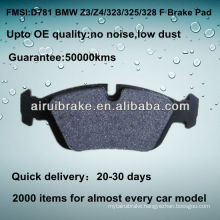 D781 OE QUALITY brake pad FOR BMW Z4 AUTO PARTS