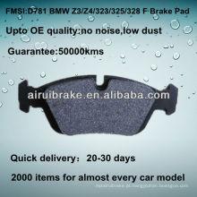 D781 OE QUALITY freio pad para BMW Z4 AUTO PEÇAS