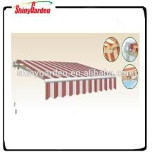 manuell einziehbares Sonnensegelmechanismus-Getriebe des Balkons