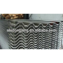 Corrugated aluminum roofing sheet made in China