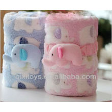 plush blanket /elephant calf cartoon blanket /air-conditioner quilt