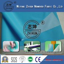 Direct Manufacture PP Tecido não tecido com filme PE utilizado para Madical