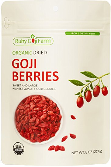 Organic Dried Goji Berry 8oz pakiet