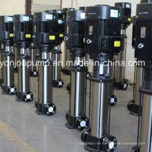 Edelstahl-Wasserdruck-Druckerhöhungspumpen, vertikale mehrstufige Inline-Pumpe