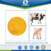 MOST PROFESSIONAL SUPPLIER VITAMIN B COMPLEX TABLET B6 AND B12 FOLIC ACID FEED GRADE