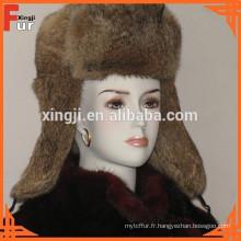Chapeau de fourrure le plus fashion chapeau d'hiver