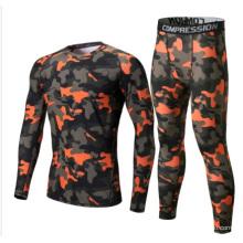 OEM Wholesale Fitness Apparel Men′s Camo Sports Suits.