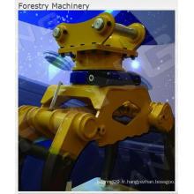 Entraînements d'orientation utilisés pour les machines forestières (M9 pouces)